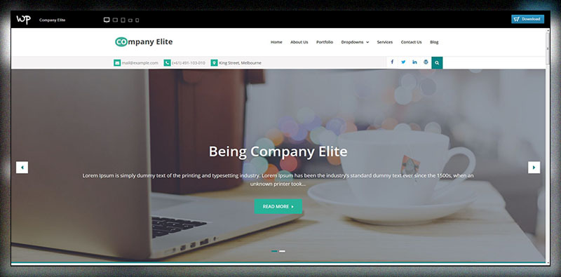Company Elite - Free Multipurpose Children WP Theme