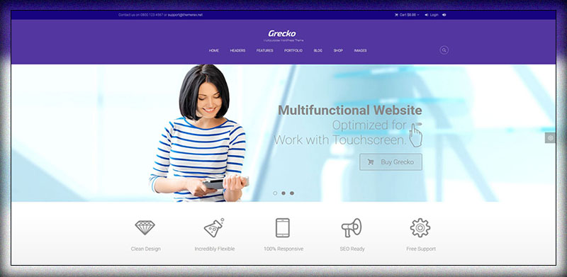 Grecko | Multipurpose WordPress Theme